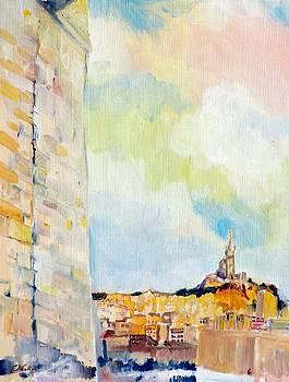 Aupre's de la Tour du Roi Rene' by Chris Walker