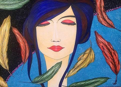 Aura Of Peace. by Tejsweena Krishan