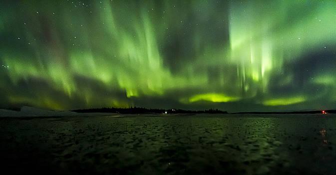 Auroa Ice Field by Kyle Lavey