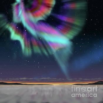Aurora at dawn by Atiketta Sangasaeng