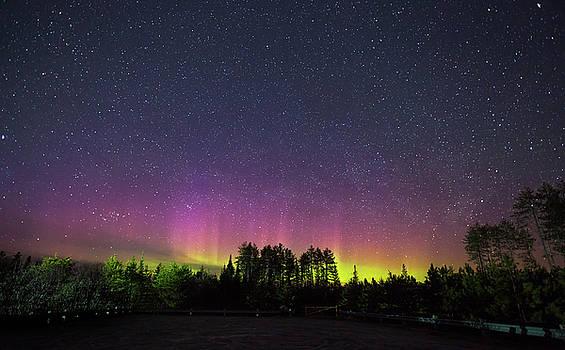 Aurora Borealis  by Brian Boudreau