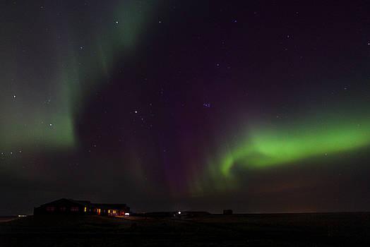 Aurora Borealis in Iceland by Jennifer Ansier