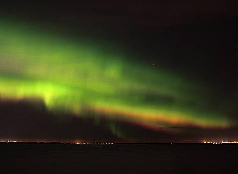 Aurora borealis by Jouko Lehto
