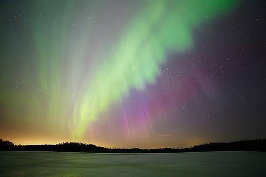 Aurora borealis - northern lights by Teemu Tretjakov