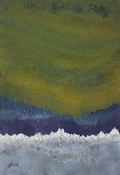 Aurora Borealis original painting by Sol Luckman
