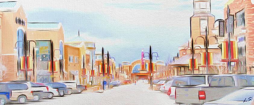Aurora City by Sergey Lukashin