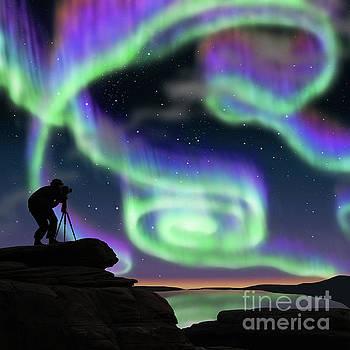 Aurora hunters by Atiketta Sangasaeng