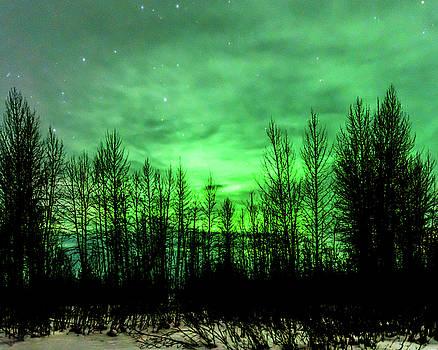 Aurora in the Clouds by Bryan Carter