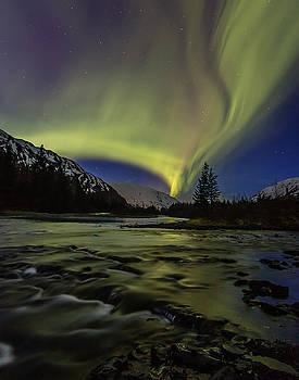 Aurora River by Zane Giles