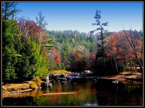 Ausable River near Keene, NY by Linda Seifried