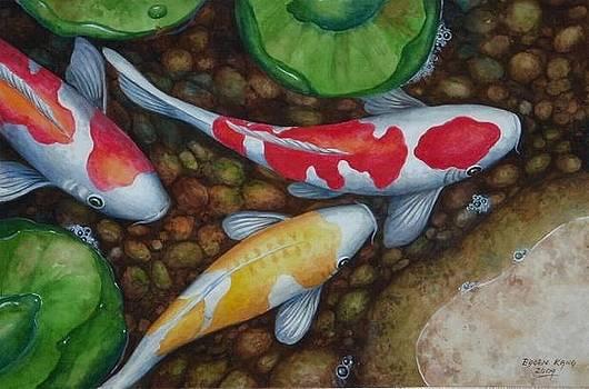 Edoen Kang - Auspicious Koi Pond 6