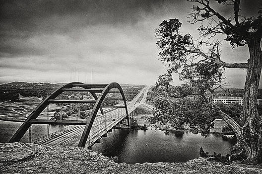 Austin 360 Bridge in Early Dawn by Lisa  Spencer