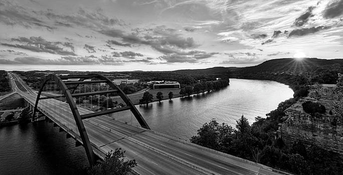 Austin 360 Pennybacker Bridge Sunset by Todd Aaron