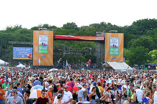Herronstock Prints - Austin City Limits Music Festival Stage