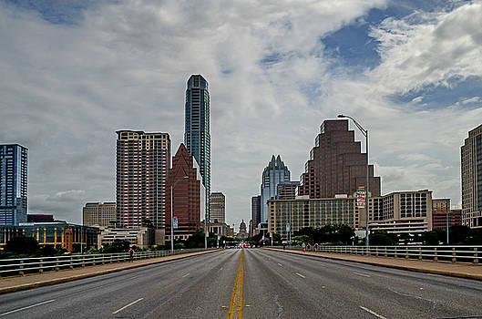 Allen Sheffield - Austin from Congress Street Bridge