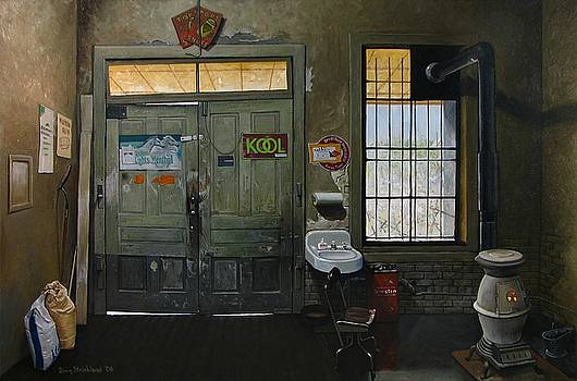 Austin General Store Interior by Doug Strickland