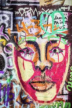 Austin Graffiti Faces by Steven Bateson