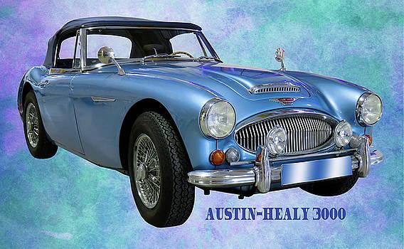 Austin-healy 3000 by Ericamaxine Price