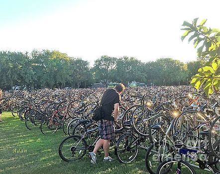 Felipe Adan Lerma - Austin Hike and Bike Trail - Zilker Park Bicycles - Making Room
