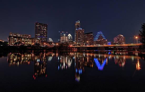 Todd Aaron - Austin Skyline At Night
