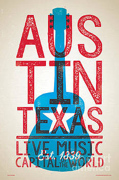 Austin Texas - Live Music by Jim Zahniser