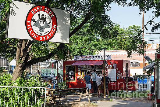 Herronstock Prints - Austins food truck parks offer delectable delights from their original and international cuisine