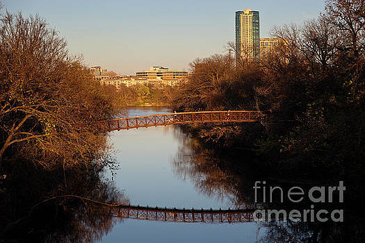 Herronstock Prints - Austins Zilker Park Running Trail offers breath taking scenery for Runners and joggers