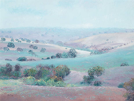 Jan Matson - Australian Country Landscape painting