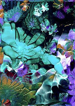 Australian Emerald Begonias by Nan Bilden