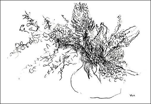 Australian Flora Sketch by VIVA Anderson