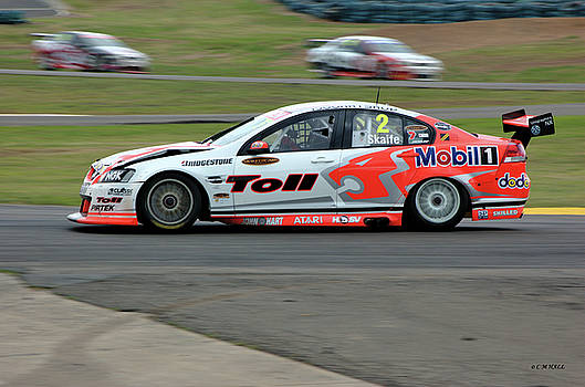 Cheryl Hall - Australian Racing Car Driver Mark Skaife