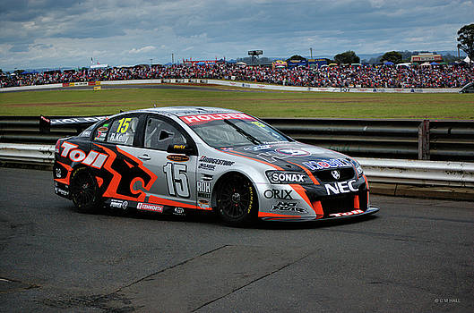 Cheryl Hall - Australian Racing Car Driver Rick Kelly