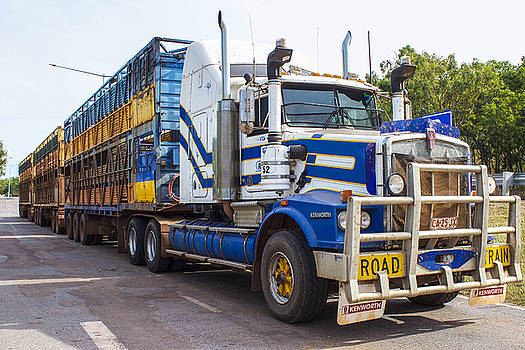 Venetia Featherstone-Witty - Australian Road Train