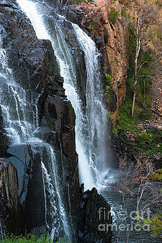 Australian Waterfall Grampians by Andrew Michael