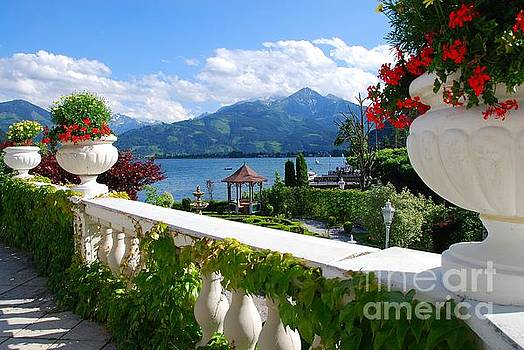 Austrian Veranda by Josephine Benevento-Johnston