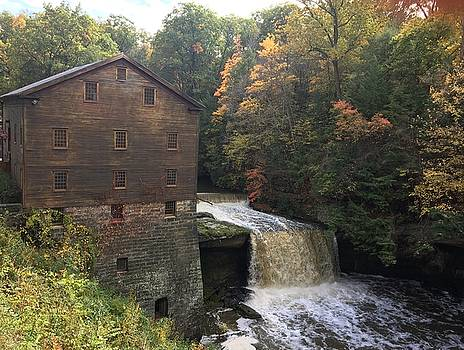 Autumn at the Mill by Heidi Moss