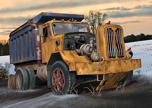 Autocar Dumptruck by Stuart Swartz