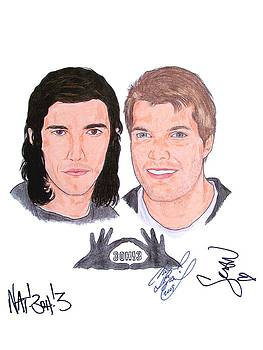 Autographed 3OH3 by Michael Dijamco