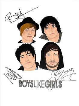 Autographed Boys Like Girls by Michael Dijamco