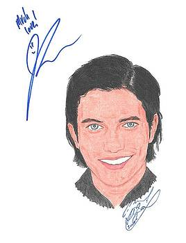 Autographed Jackson Rathbone by Michael Dijamco