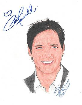 Autographed Peter Facinelli by Michael Dijamco