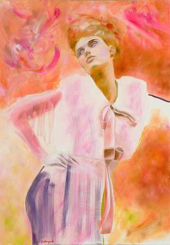 Autoportrait by Krzis-Lorent Frederique