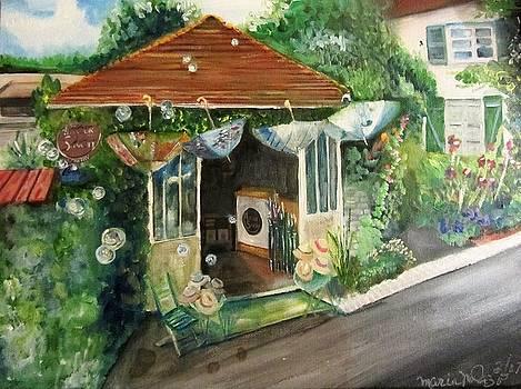 Autour d'un Savon Giverny France  by Maria Milazzo
