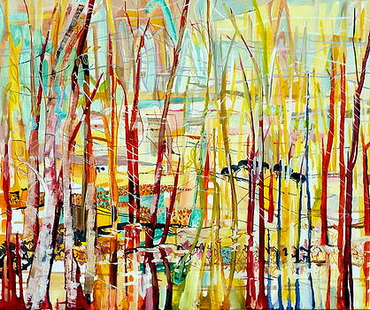 Autumn Abstract by Chris Walker