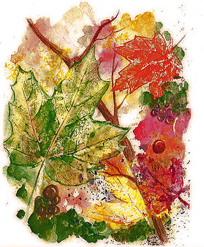 Autumn Abstraction by Irene Czys