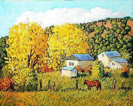 Autumn Afternoon by Donna Clair
