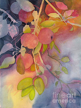 Autumn Apples Full Painting by Conni Schaftenaar