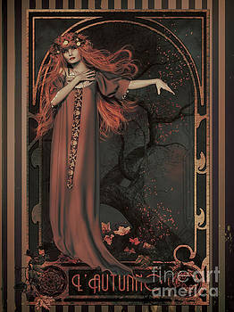 Autumn Art Nouveau  by Shanina Conway
