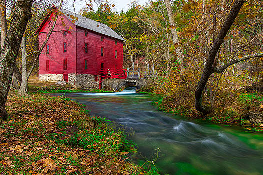 Autumn at Alley Spring by Jackie Novak