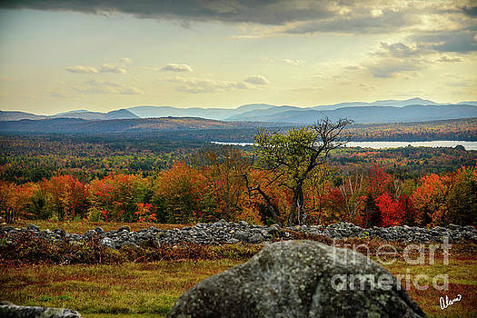 Autumn at Center Hill by Alana Ranney